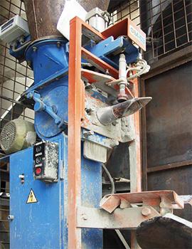 Фасовочная машина FM-03 -- уже давно работает на заводе ТММ Будкомплект в Киеве